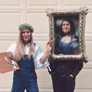 Mona Lisa Painting Costume